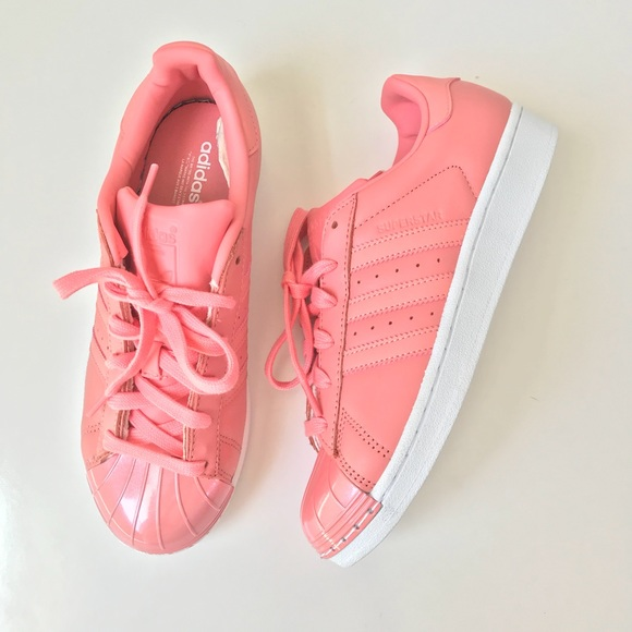 54d4ab20de6 Adidas Originals Superstar Metal Toe Rose Pink 7